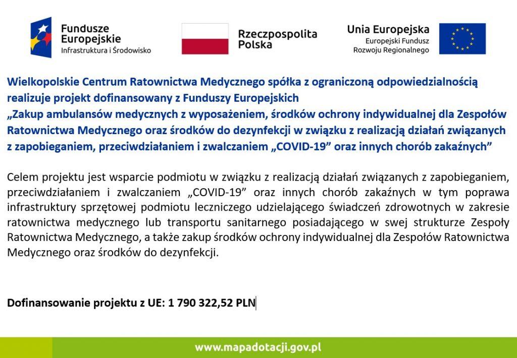 Ambulanse_Covid-19 dla WCRM w Koninie